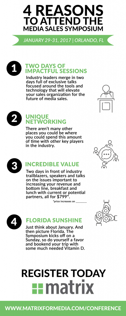 4 Reasons to Attend Media Sales Symposium