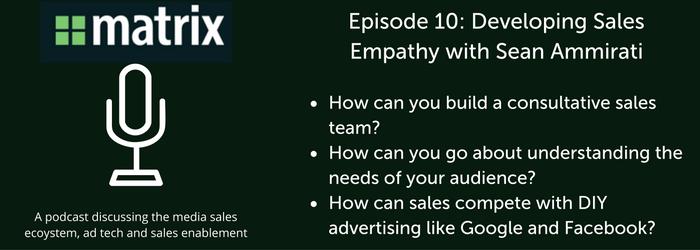 Media Ad Sales Empathy