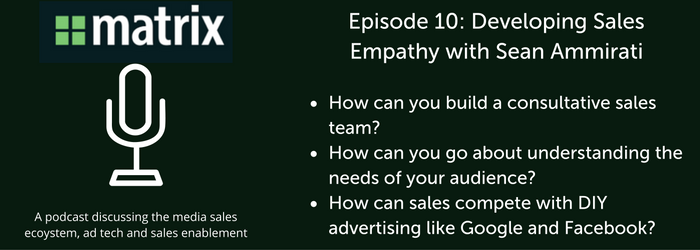 Media Ad Sales Empathy