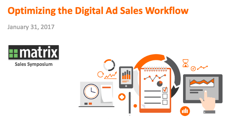 Digital Ad Sales Workflow